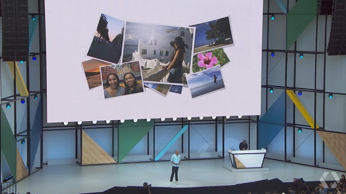 New features for Google Photos debuted at Google I/O 2017