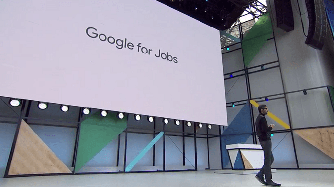 Google for Jobs announced at Google I/O 2017