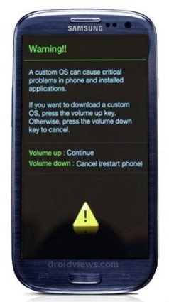 Root Samsung Galaxy S3 Auf Android 4.1.1 Jelly Bean Firmware - Galaxy S3 Download-Modus - Droid Views