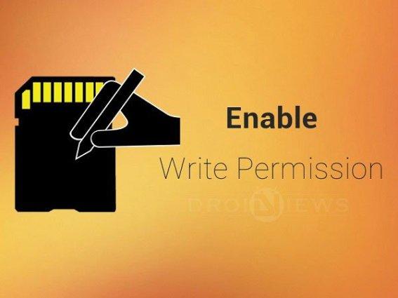 Schreibzugriff auf externen Speicher