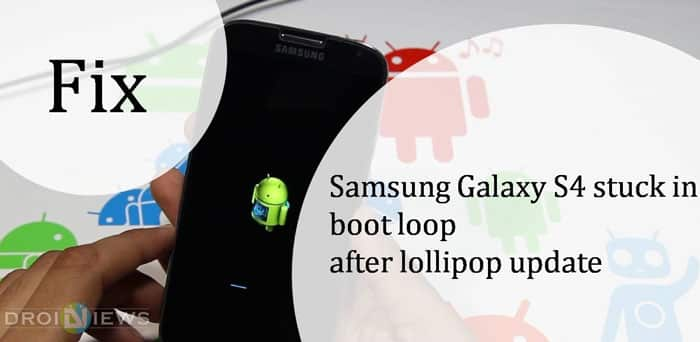 Galaxy S4 Bootloop Problem