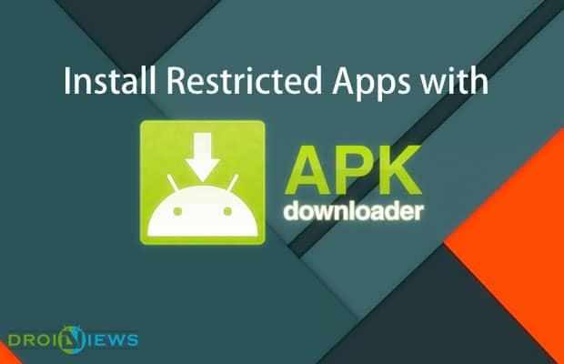 Installieren Sie eingeschränkte Apps