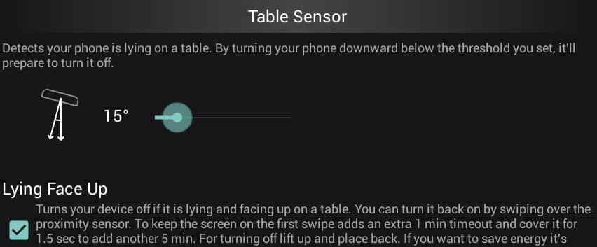 Tischsensor