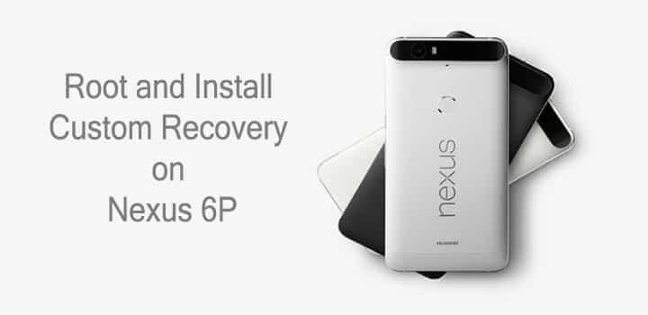 TWRP-Wiederherstellung auf Nexus 6P