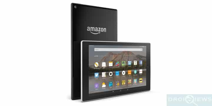 Restore Amazon Fire HD 8
