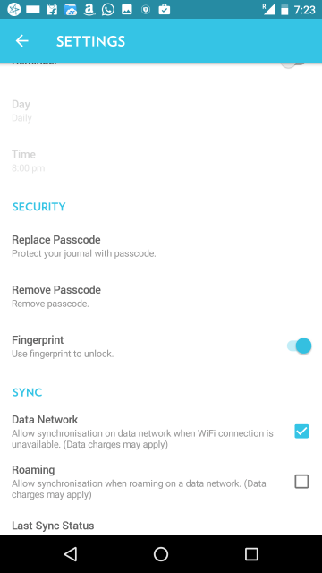Android Apps with Fingerprint Support