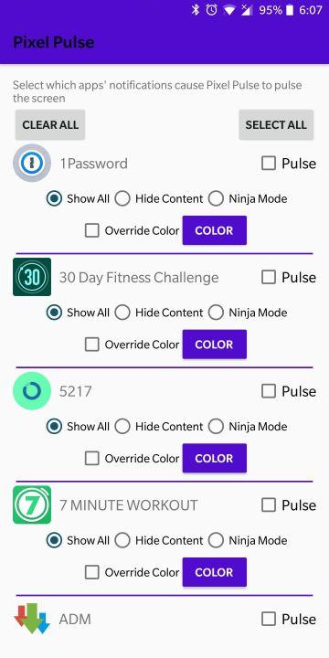 Pixel-Pulse-filter