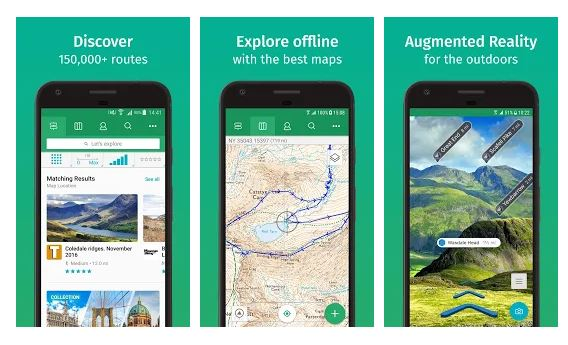 ViewRanger Outdoor Adventure App