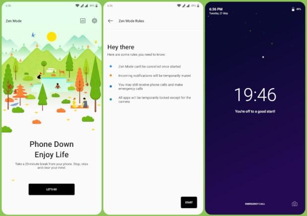 OnePlus 7 Pro Zenmode on OnePlus 6