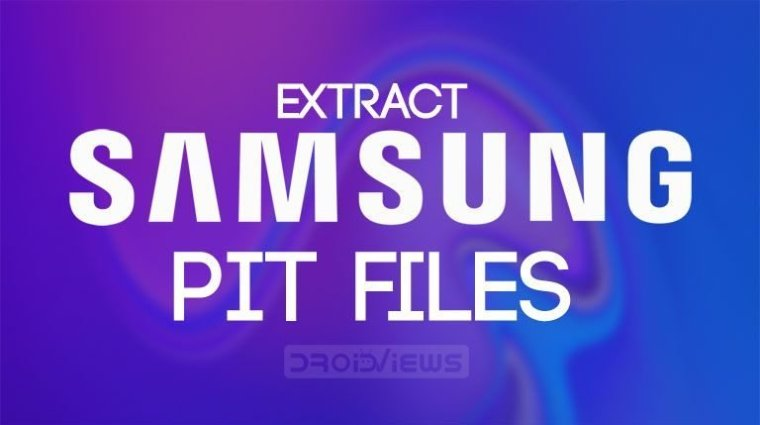 Samsung PIT-Datei extrahieren