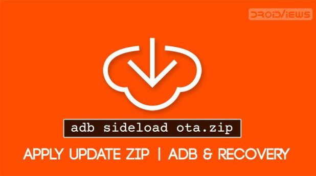 apply ota update from adb sideload