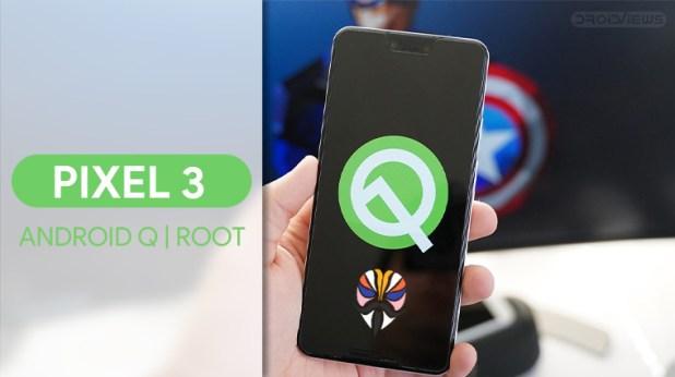 Root Google Pixel 3 Q Beta