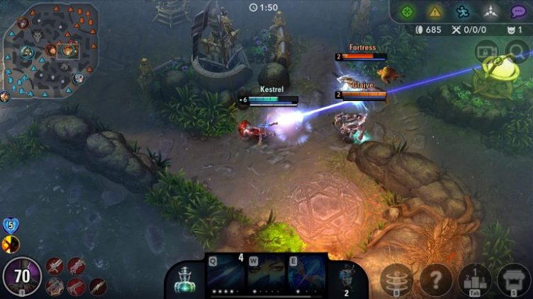 Vainglory high fps game