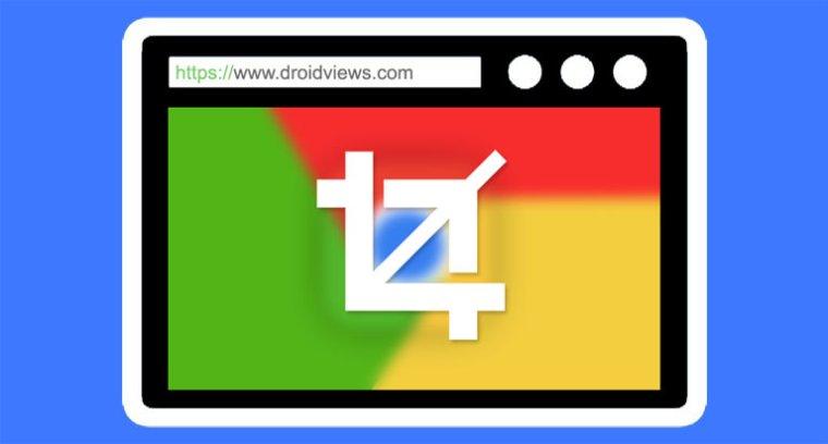 Ganzseitiger Screenshot in Chrome