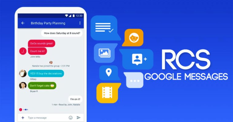 rcs in google messages
