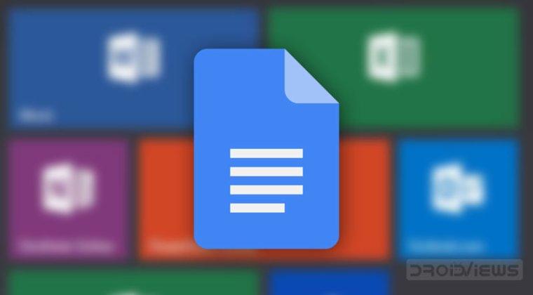 Microsoft Office-Dateien in Google Docs