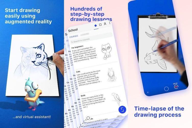 SketchAR ar app