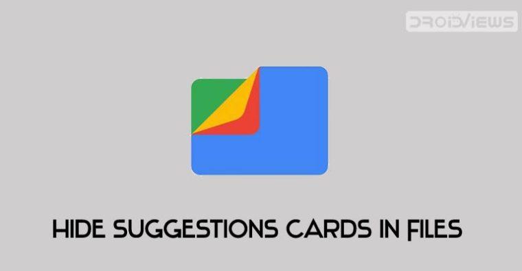 Dateien gehen Vorschläge