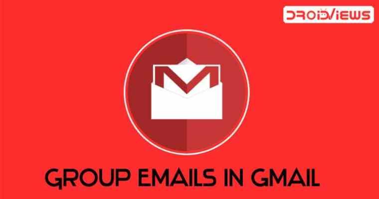 E-Mails in Google Mail gruppieren