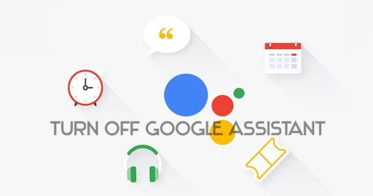 Schalten Sie den Google-Assistenten aus