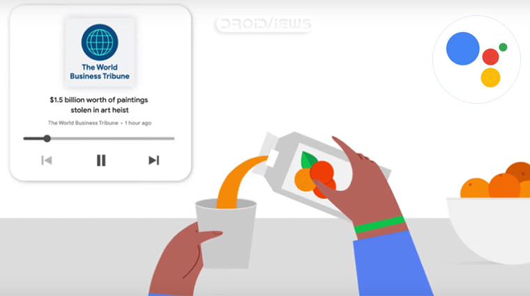 Google Assistant Nachrichten lesen