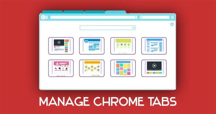 Verwalten der Chrome Tabs-Erweiterung