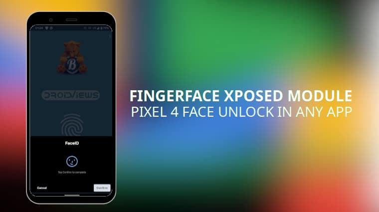 Use Pixel 4 Face Unlock for any application with the FingerFace Xposed Module