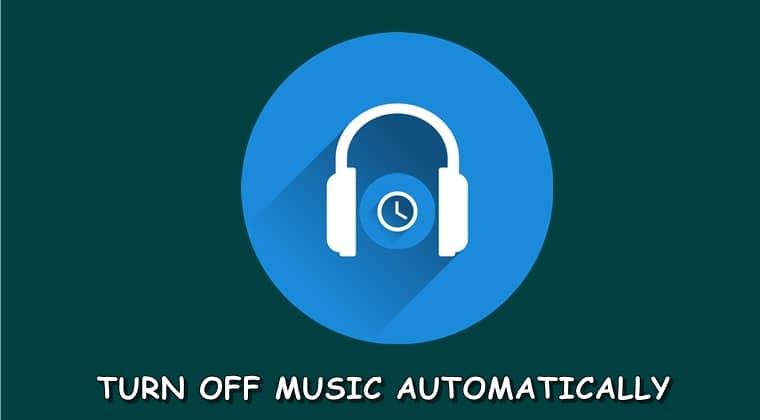 Musikabdeckung ausschalten