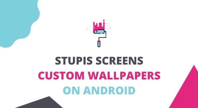Stupis Bildschirm Wallpaper Creator