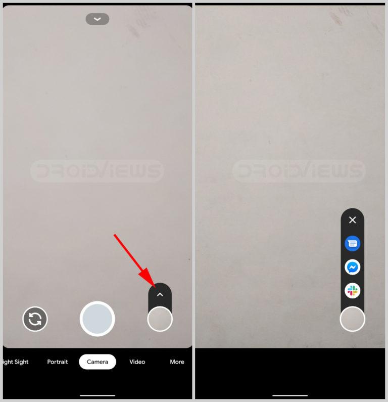 Teilen Sie Fotos direkt von der Kamera auf Google Pixel