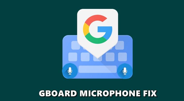 Gboard-Mikrofon