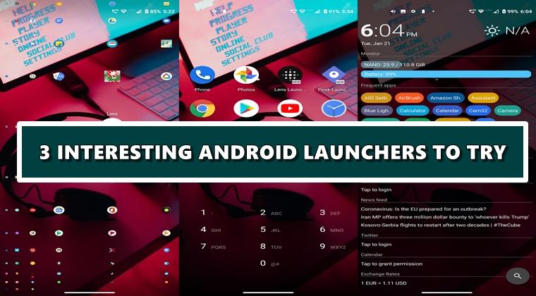 interessante Trägerraketen Android