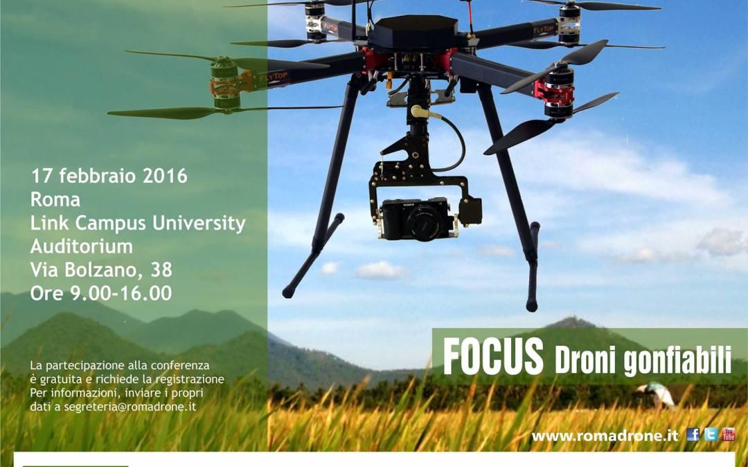 Droinwork al Roma Drone – Focus su aerostati e dirigibili // 17 Febbraio 2016