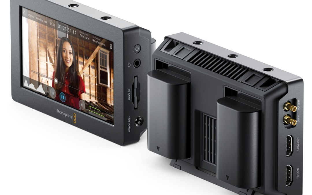 Blackmagic Video Assist // New entry Droinwork APR Aerial Services