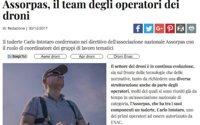Assorpas, il team degli operatori dei droni