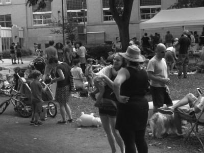 Rencontre de parents mobilisés pour les CPE, le samedi 10 septembre, au parc Durocher, lieu de rendez-vous toujours populaire