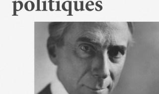 Bertrand Russel Idéaux politiques Éditions Écosociété, 2016 112 pages