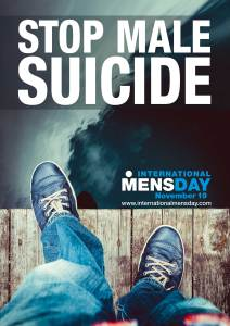 Stop Mens' Suicide - International Mens Day - 19 November