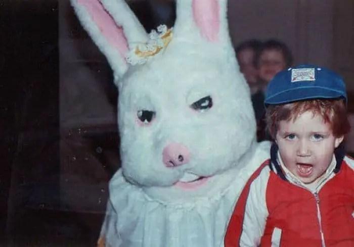 20 Creepy Vintage Easter Bunny Pics Guaranteed To Make You Say WTF -01