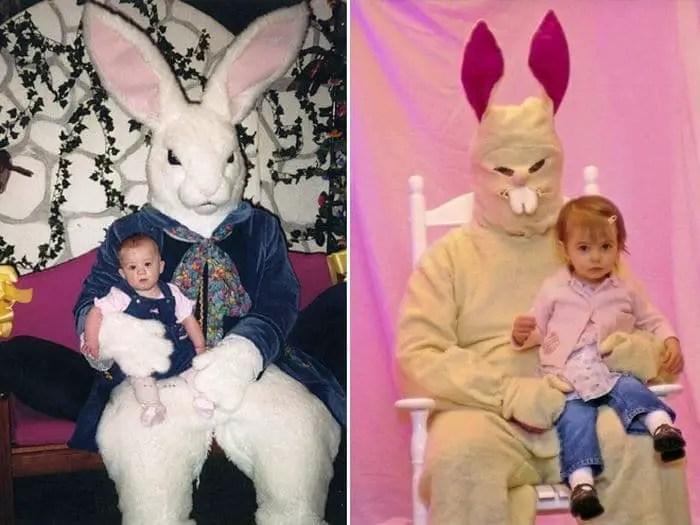 20 Creepy Vintage Easter Bunny Pics Guaranteed To Make You Say WTF -12