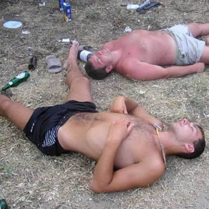 48 Ridiculous Drunk People That Will Shock You -46