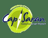 Logo Cap Saran : suivi de chantier par drone : vidéos, photos, timelapse) du plus grand centre commercial de la Région Centre Val de Loire à côté d'Orléans (45 - Loiret)
