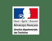 Logo de la Direction Départemental du Territoire du Loiret (45)