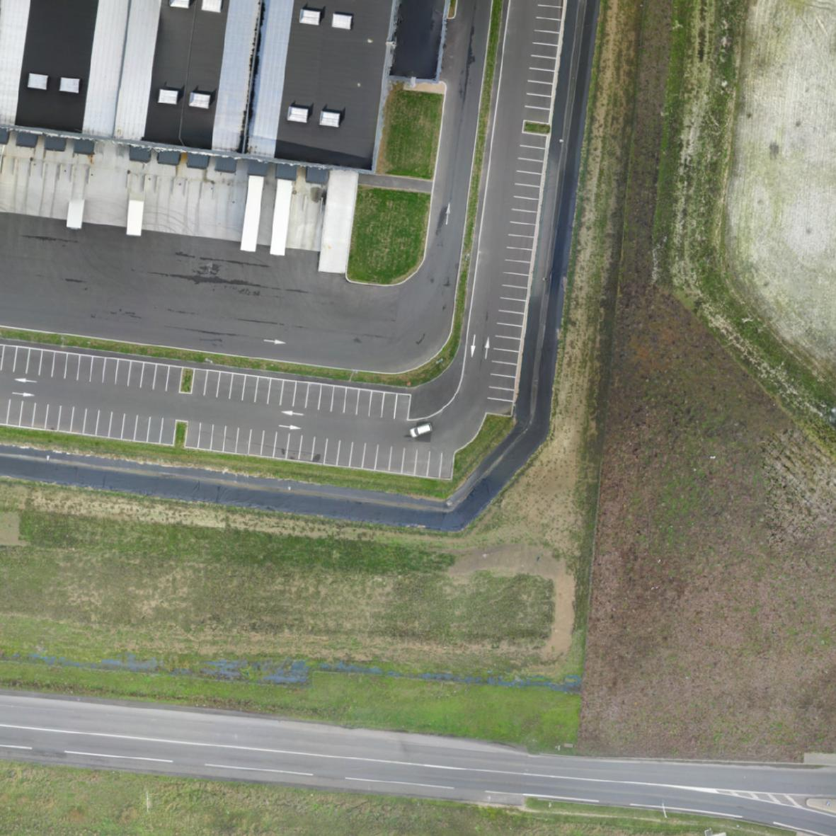 exemple orthophoto drone ebee topographie