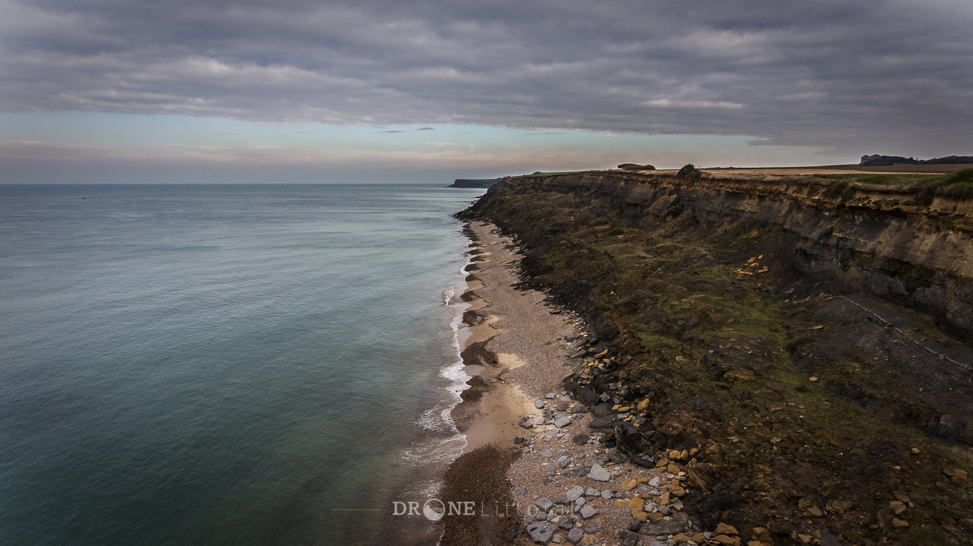 Drone Littoral - Les falaises d'Audresselles