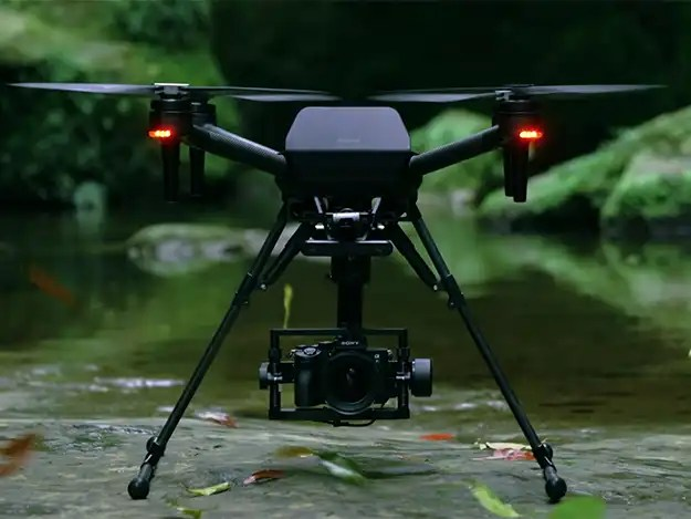 Sony Airpeak S1 professional drone with speed image and many more