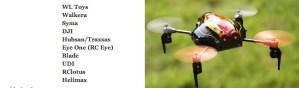 Quadcopter Manufacturers Listing