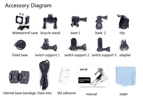 SJCAM M10 Accessories