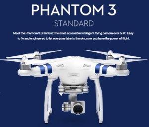 DJI Announces Phantom 3 Standard at $799 complete