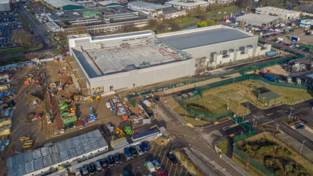 Drone Video and Photography in Construction in Sussex Surrey and Kent